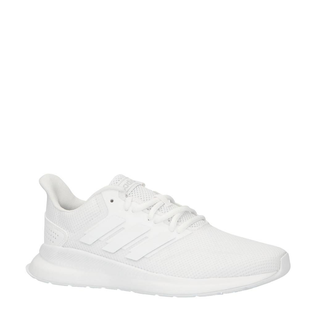 adidas Performance   Runfalcon hardloopschoenen wit, Wit, Dames