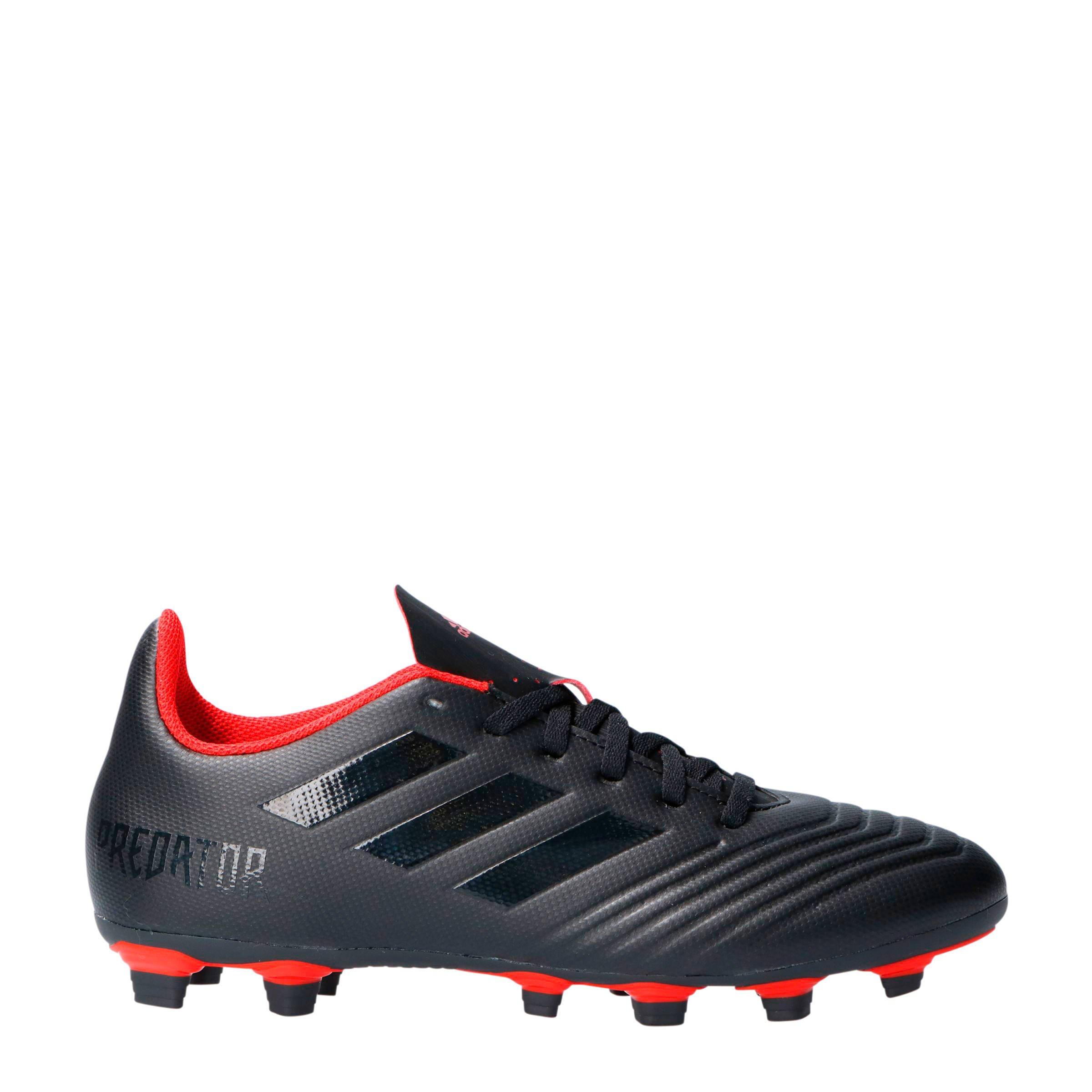 adidas voetbalschoenen predator zwart rood