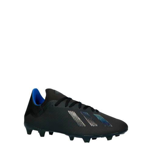 adidas performance X 18.3 FG voetbalschoenen zwart-blauw