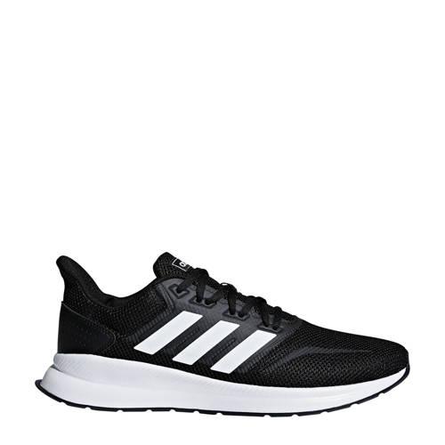 adidas performance Runfalcon hardloopschoenen zwart-wit