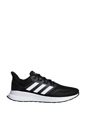 Runfalcon hardloopschoenen zwart/wit