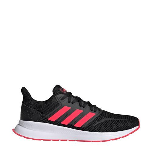 adidas performance Runfalcon hardloopschoenen zwart-roze