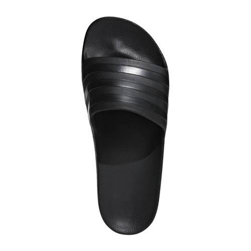 adidas performance Adilette Aqua badslippers zwart