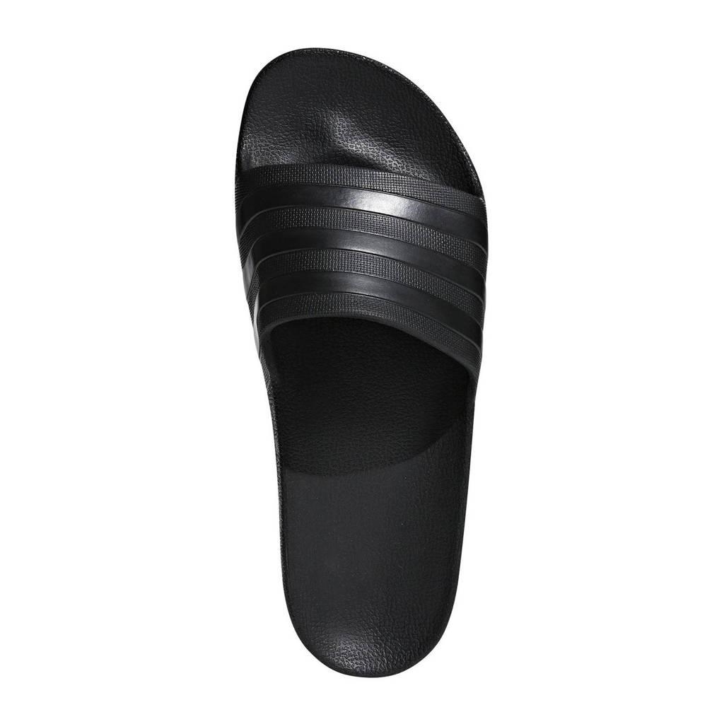adidas Performance   Adilette Aqua badslippers zwart, Zwart, Unisex
