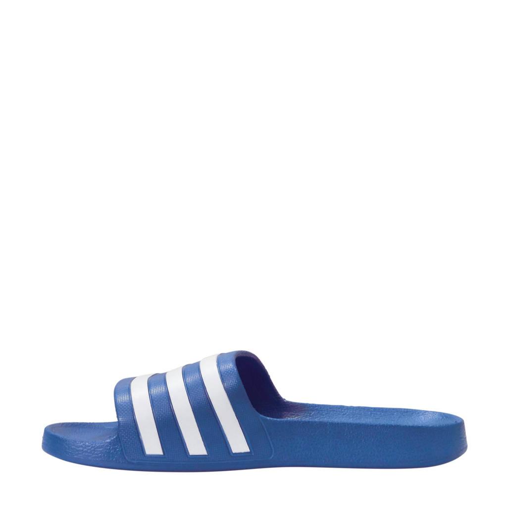 Badslippers Adidas Aqua Aqua wit Adilette Performance wzATzaq