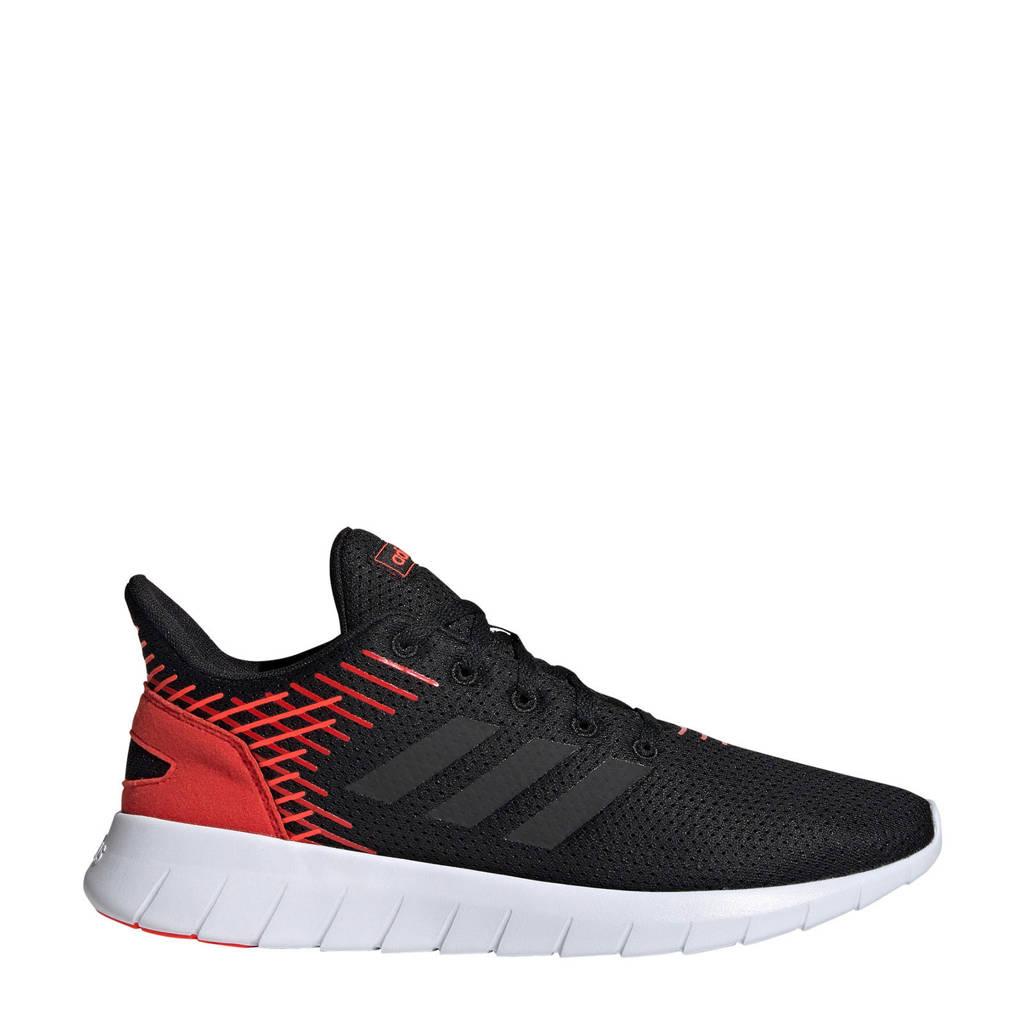 adidas performance Asweerun hardloopschoenen zwart/rood, Zwart/rood