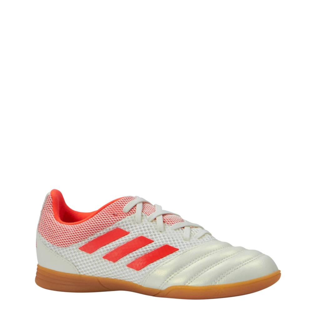 adidas performance COPA 19.3 IN SALA J zaalvoetbalschoenen, Wit/rood
