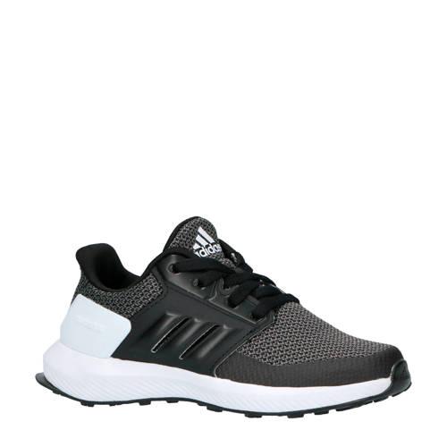 adidas performance kids RapidaRun K hardloopschoenen zwart-grijs
