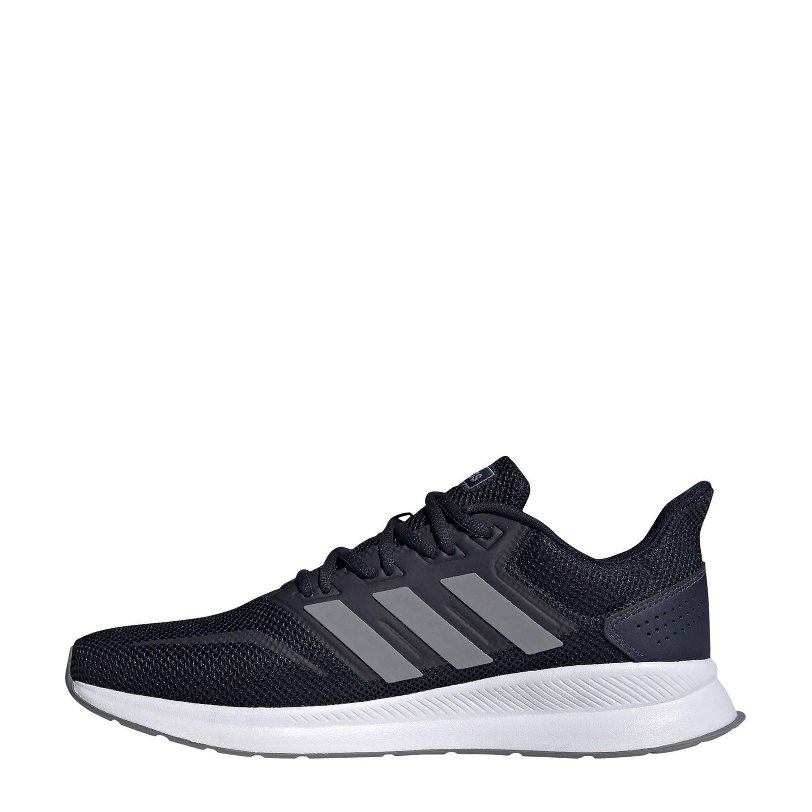 adidas Performance Runfalcon hardloopschoenen blauwgrijs