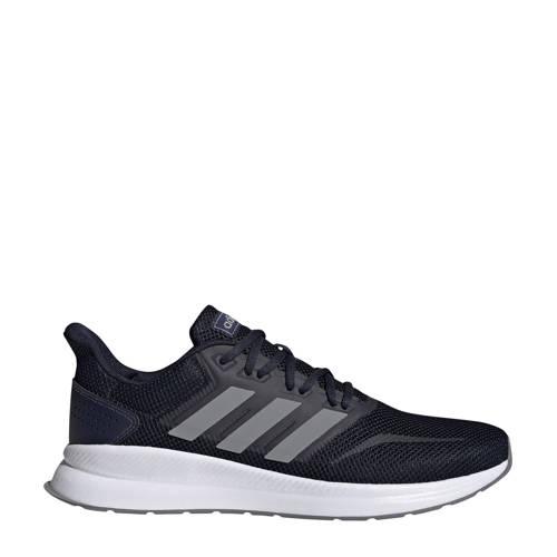 adidas performance Runfalcon hardloopschoenen blauw-grijs