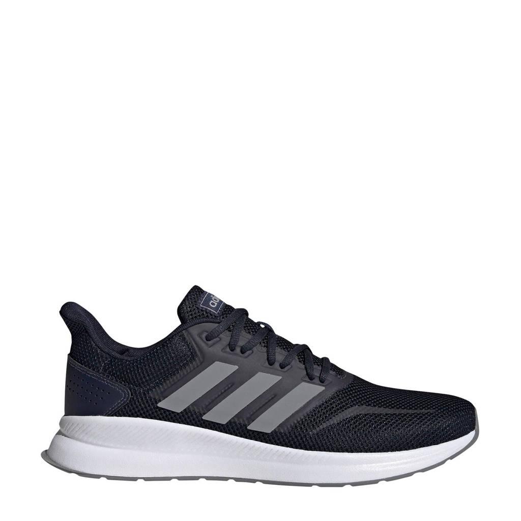 adidas performance   Runfalcon hardloopschoenen blauw/grijs, Donkerblauw/grijs