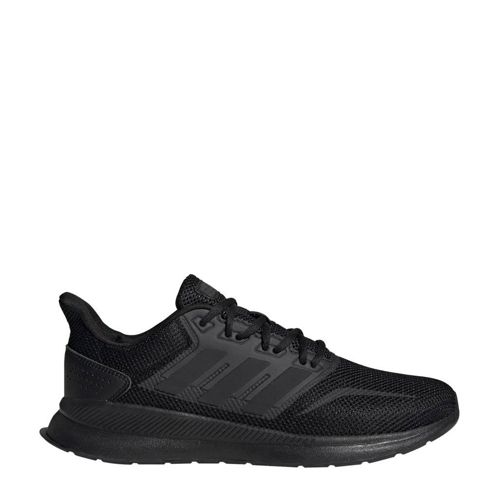adidas performance Runfalcon hardloopschoenen zwart, Zwart/Zwart