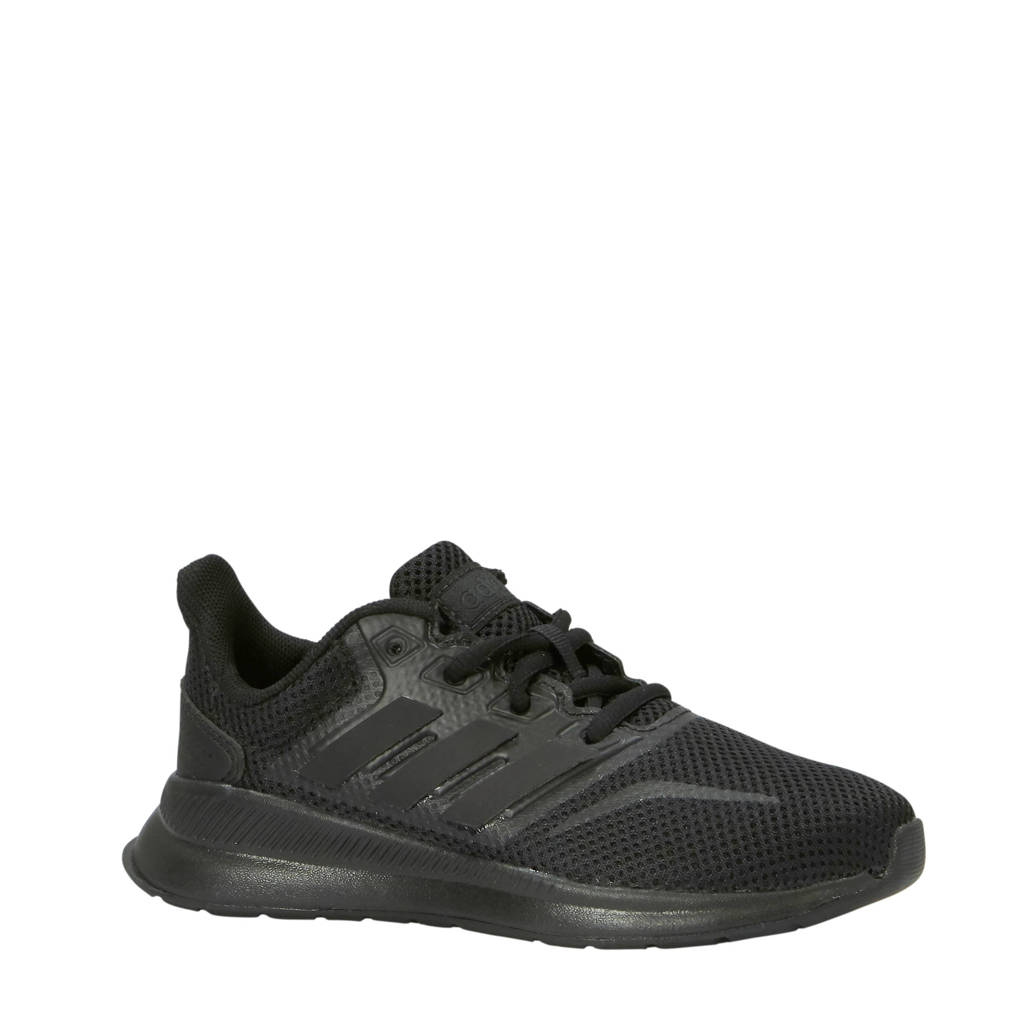 adidas   Runfalcon hardloopschoenen  kids, Zwart