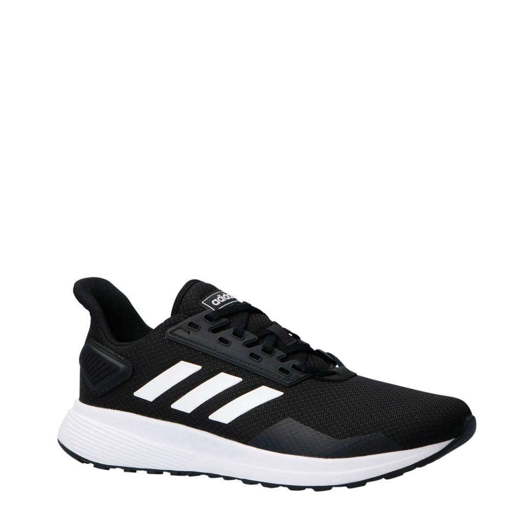 adidas Performance   Duramo 9 hardloopschoenen zwart/wit, Zwart/wit, Heren