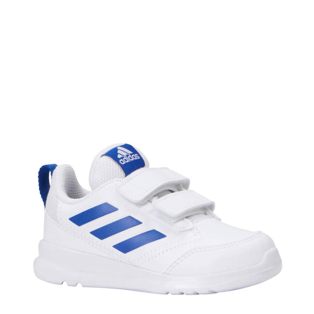 adidas performance AltaRun CF I sportschoenen wit/blauw, Wit/blauw