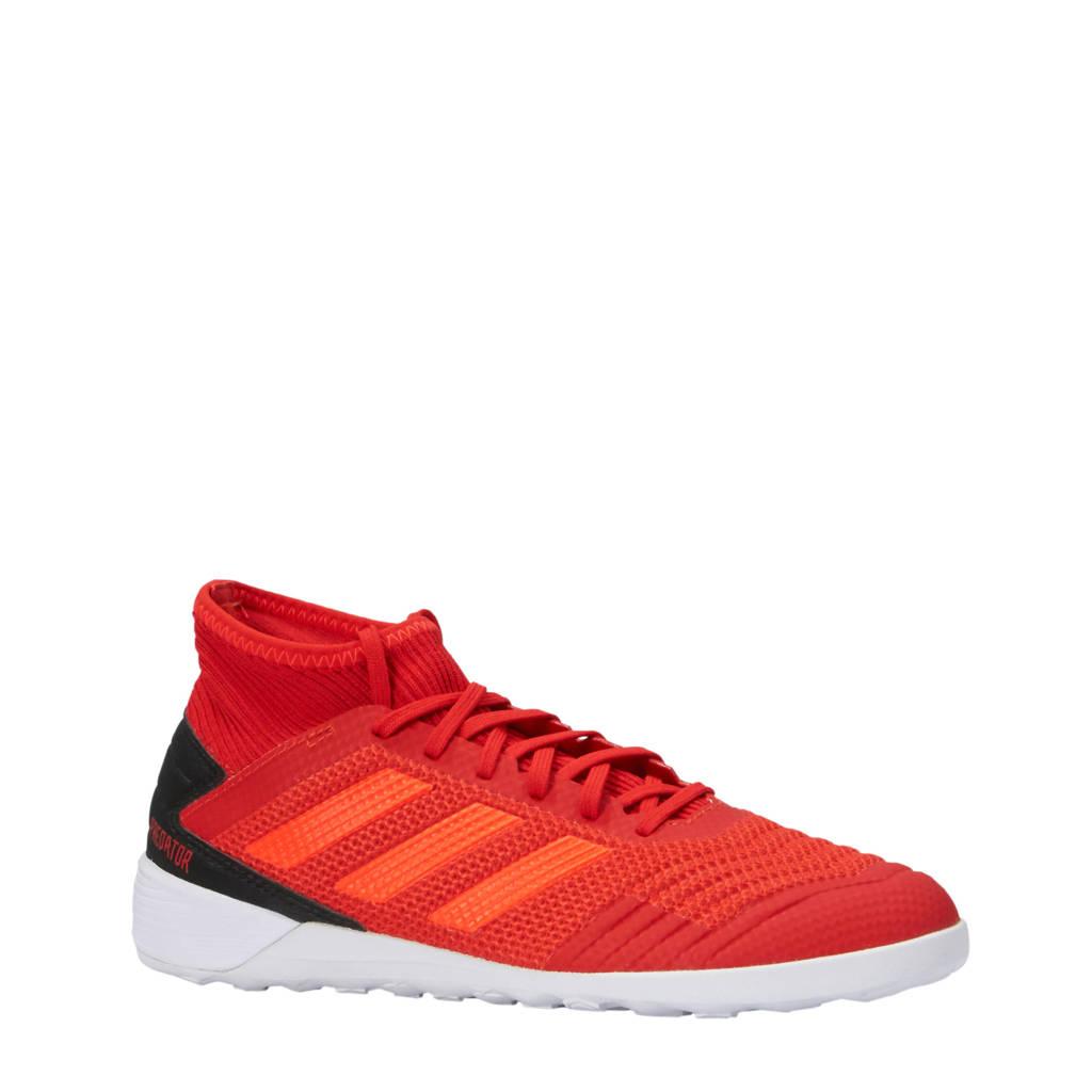 adidas performance   Predator 9.3 IN J zaalvoetbalschoenen rood, Rood/zwart