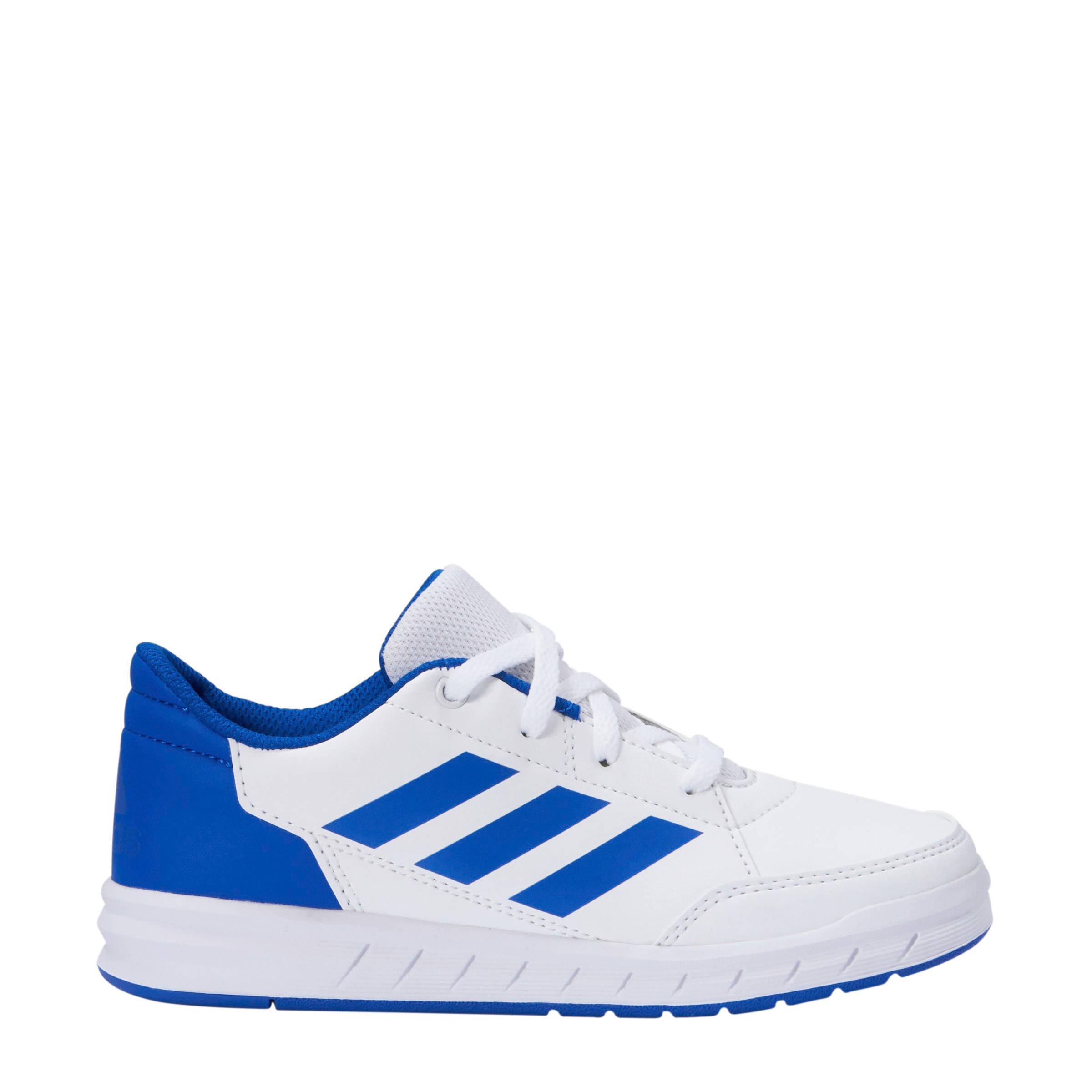 bf84fff9a19 adidas performance kids AltaSport sportschoenen wit/blauw   wehkamp