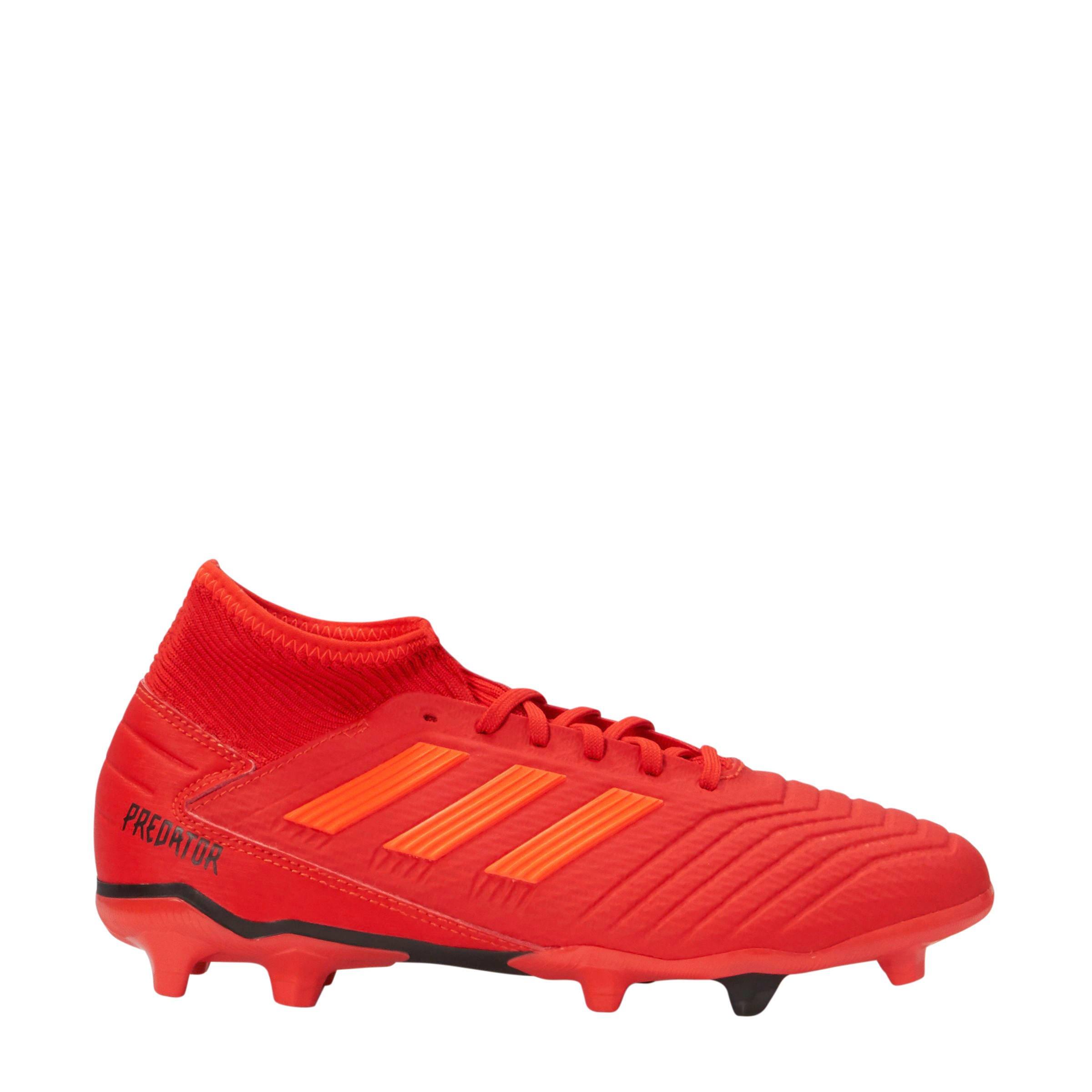 e9ea79c5b15 adidas performance Predator 19.3 FG voetbalschoenen rood   wehkamp