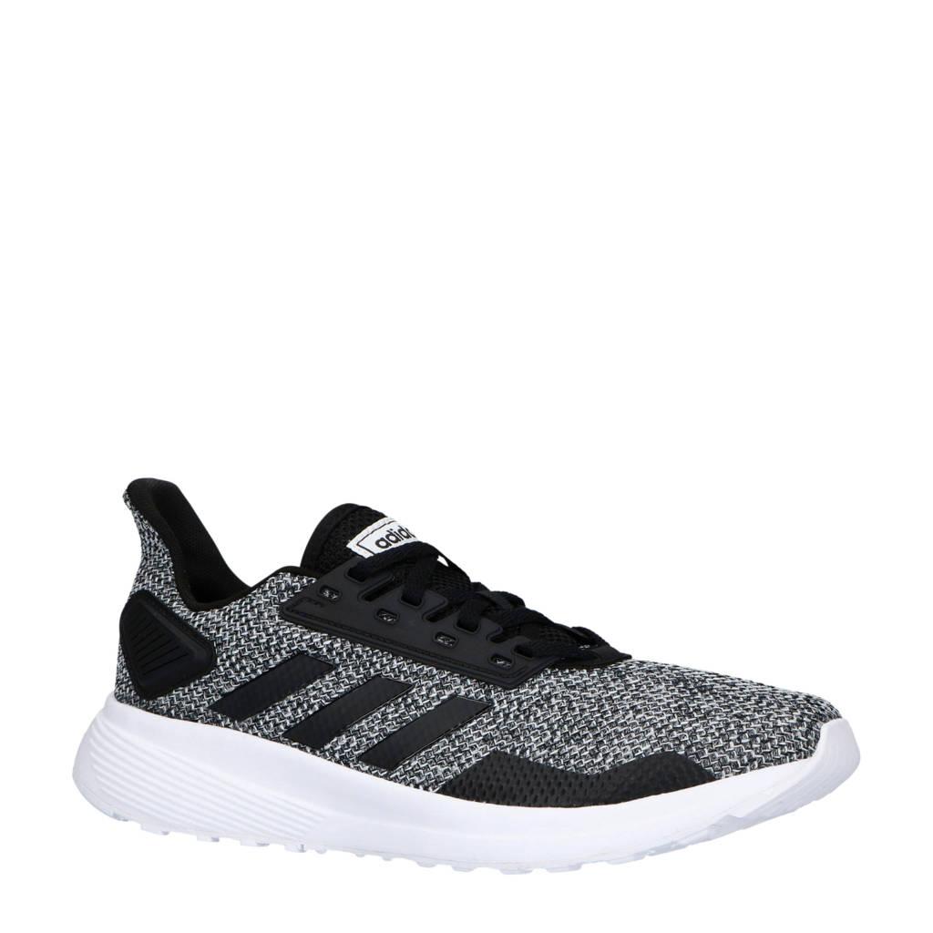 adidas performance   Duramo 9 hardloopschoenen zwart/grijs/wit, Zwart/grijs/wit
