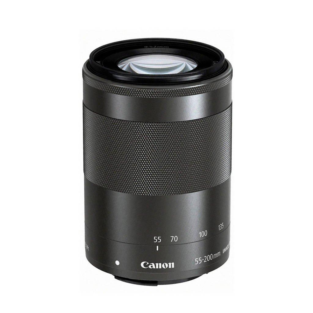Canon  telelens EF-M 55-200mm f/4.5-6.3 IS STM, Zwart