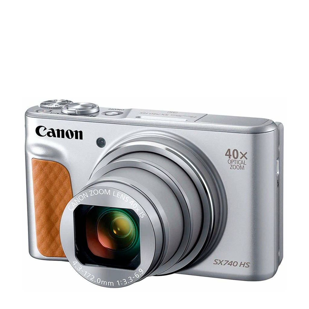 Canon POWERSHOT SX 740 compact camera zilver
