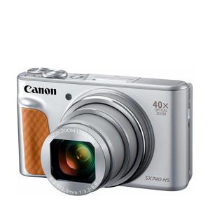 POWERSHOT SX 740 compact camera zilver