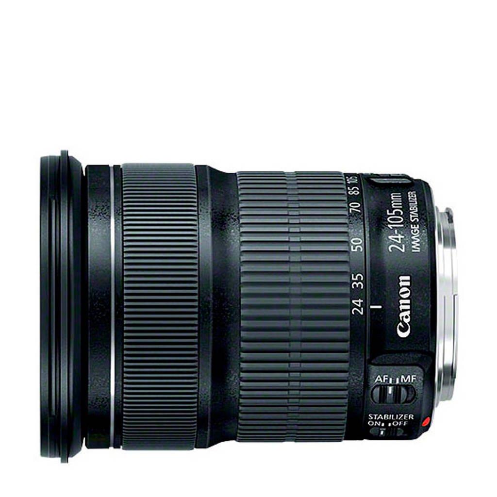 Canon EF 24-105MM 1:3. lens Canon EF 24-105mm f/3.5-5.6 IS STM, Zwart