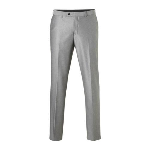 regular fit pantalon grijs