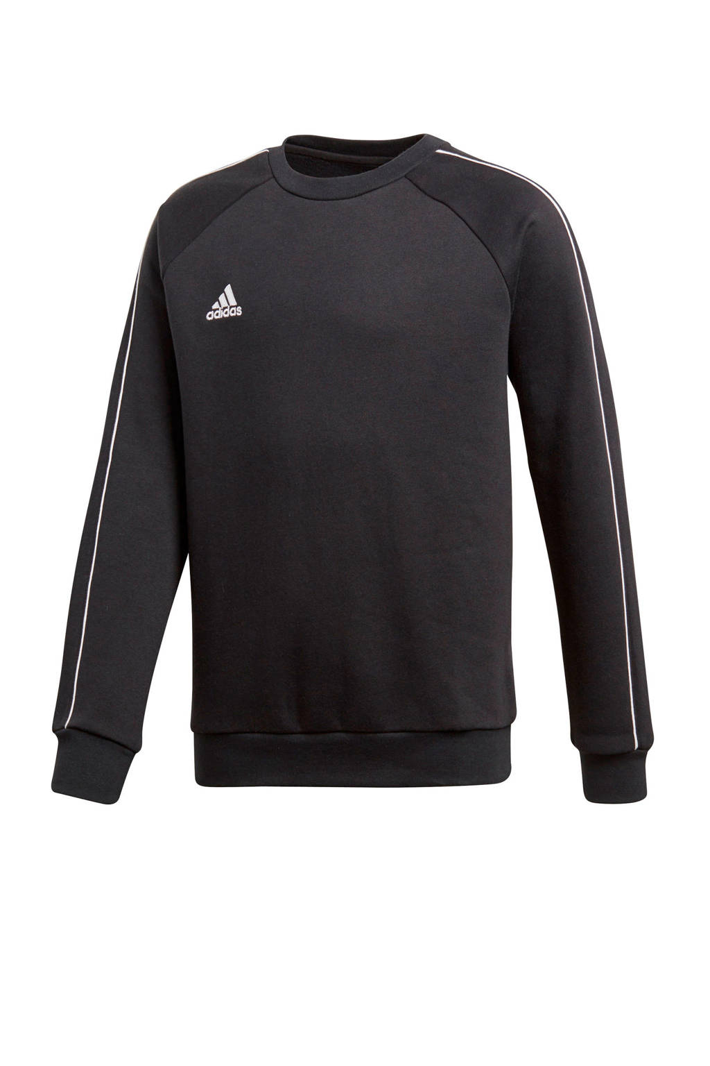 adidas Performance   sportsweater Core 18 zwart, Zwart/wit
