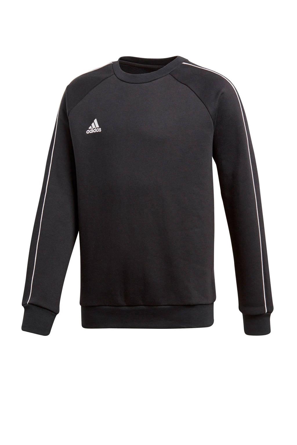 adidas performance   sportsweater zwart, Zwart/wit
