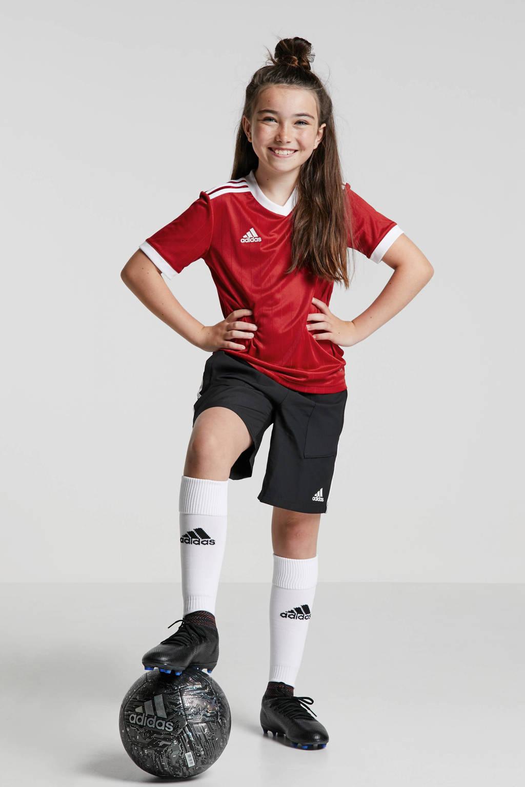 adidas performance   voetbalshort zwart, Zwart