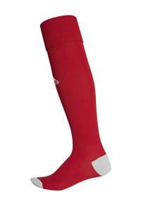 adidas Performance Senior  voetbalsokken Milano 16 rood, Rood/lichtgrijs