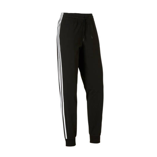 Adidas Damesbroek Adidas 3S 500 voor pilates en lichte gym zwart