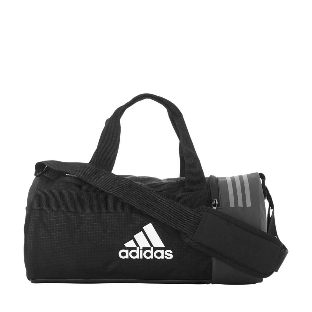 adidas performance   sporttas 3S CVRT DUF XS zwart, Zwart