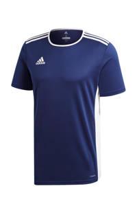 adidas Performance   sport T-shirt Entrada donkerblauw, Donkerblauw/wit, Jongens/meisjes