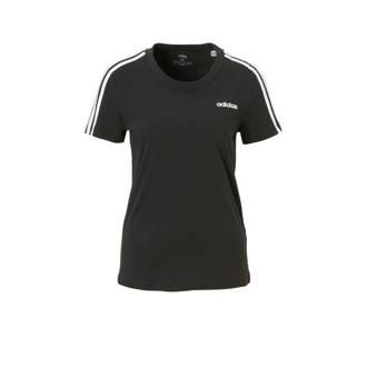 5d4691676f4 adidas. performance sport T-shirt zwart/wit