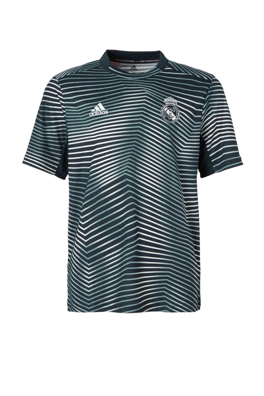 adidas performance Junior Real Madrid voetbalshirt, Antraciet/grijs