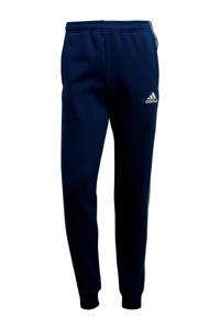 adidas Performance   joggingbroek Core 18 donkerblauw, Donkerblauw/wit