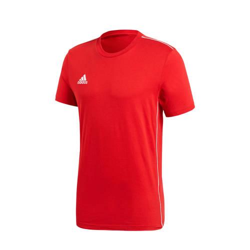 adidas performance Core 18 sport T-shirt rood