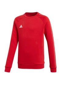 adidas Performance   sportsweater Core 18 rood, Rood/wit