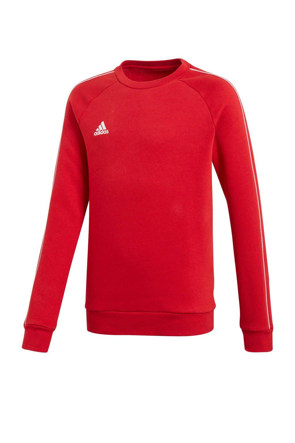adidas performance   sportsweater rood, Rood/wit