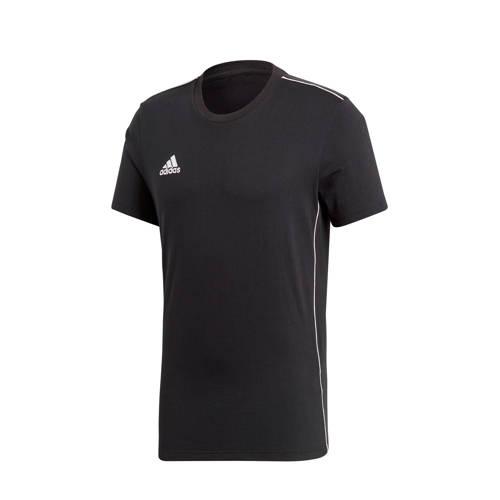 adidas performance Core 18 sport T-shirt zwart