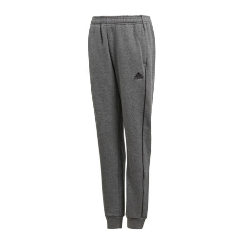 adidas Performance joggingbroek Core 18 grijs mela