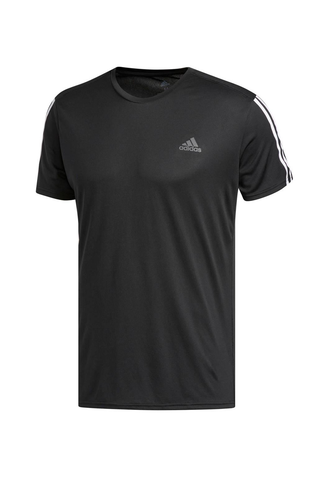 adidas performance   performance T-shirt zwart, Zwart