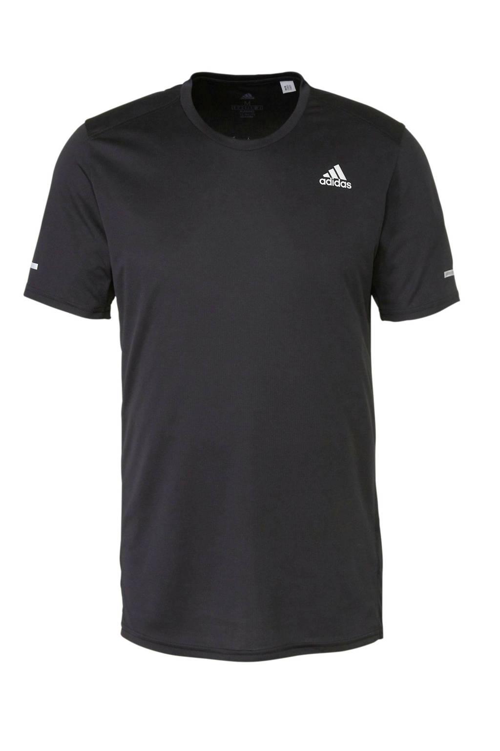 adidas performance   performance sport T-shirt zwart, Zwart