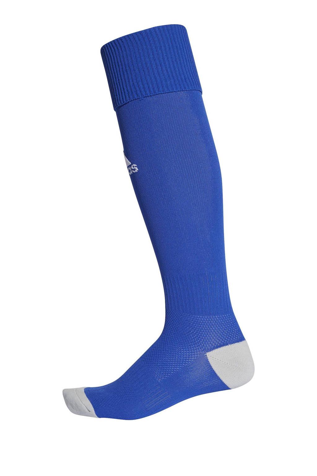 adidas performance Senior  Milano 16 voetbalsokken blauw, Kobaltblauw/wit