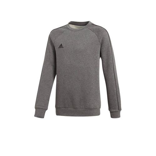 adidas Performance sportsweater Core 18 antraciet