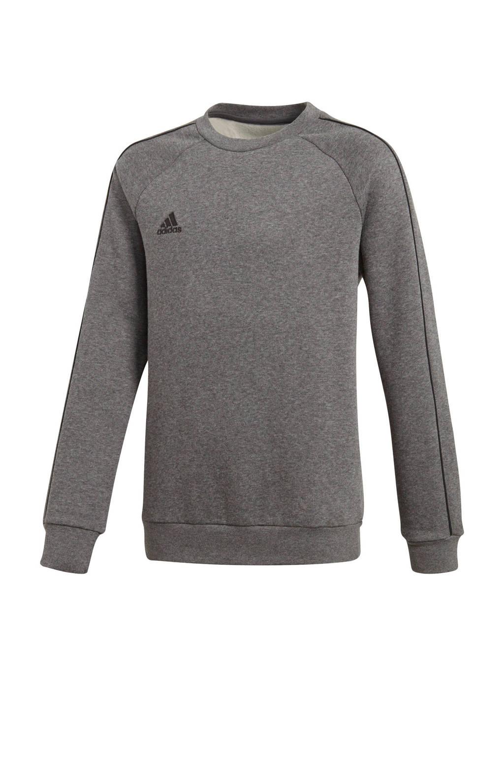 adidas Performance   sportsweater Core 18 antraciet, Antraciet/grijs