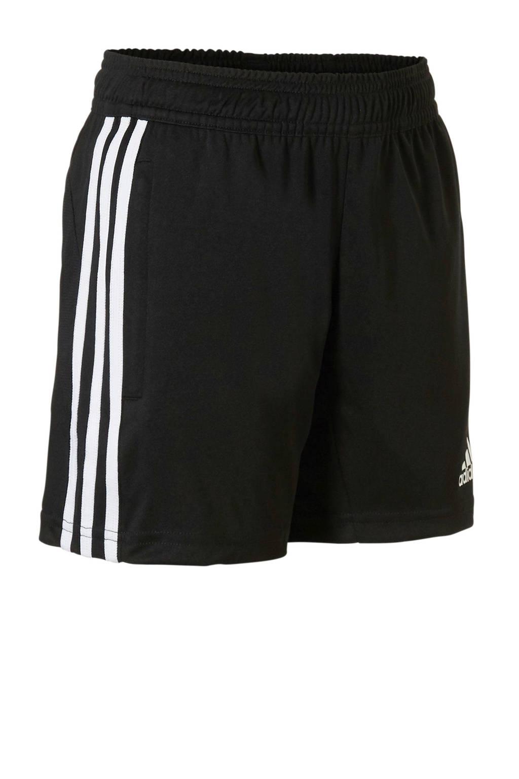 adidas Performance   sportshort Tiro 19 zwart, Zwart/wit
