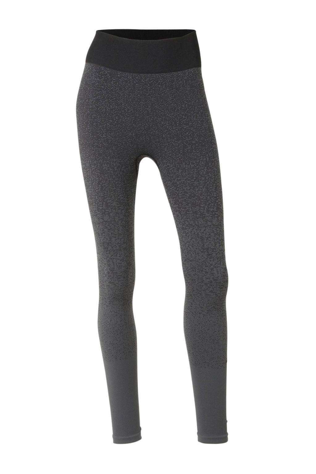 adidas performance sportbroek zwart/grijs, Zwart